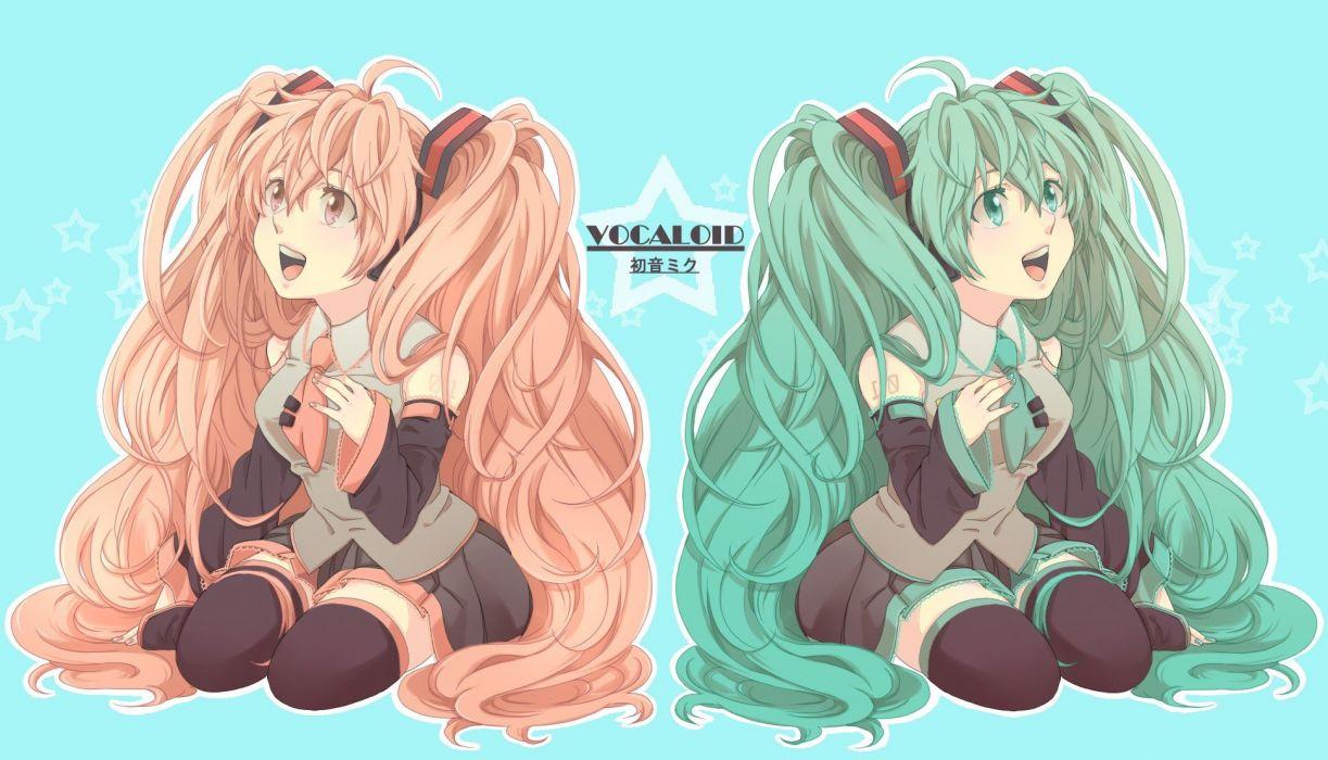 Vocaloid Hatsune Miku Sakura Miku Vocaloid Fanmade wallpaper