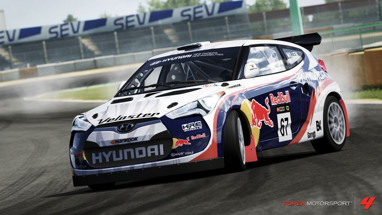 Video Games Cars Xbox 360 Hyundai Veloster Forza Motorsport