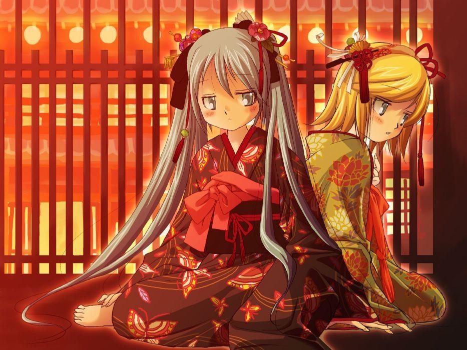 Vocaloid Hatsune Miku Kagamine Rin wallpaper