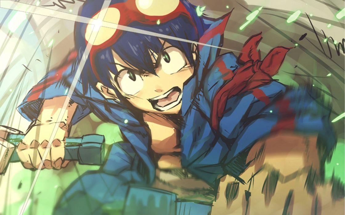 Tengen Toppa Gurren Lagann Simon anime wallpaper