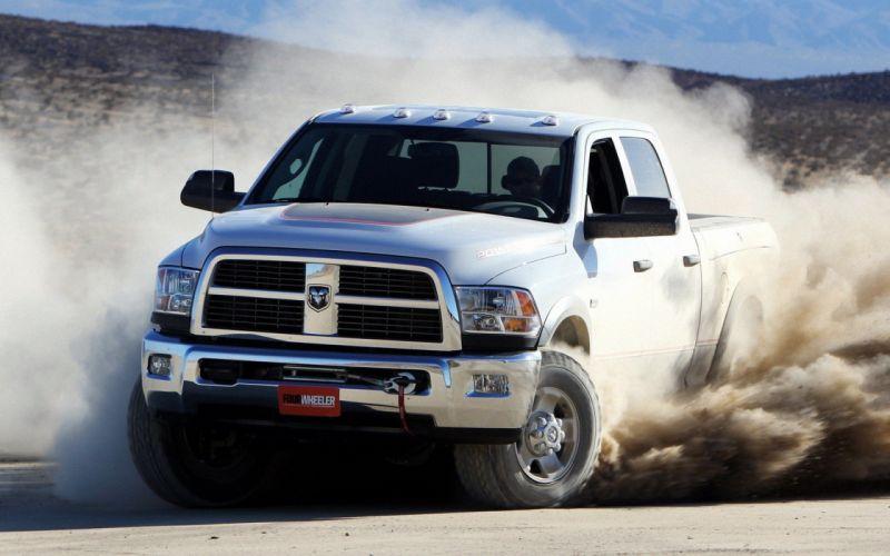 cars Dodge pickup trucks wallpaper