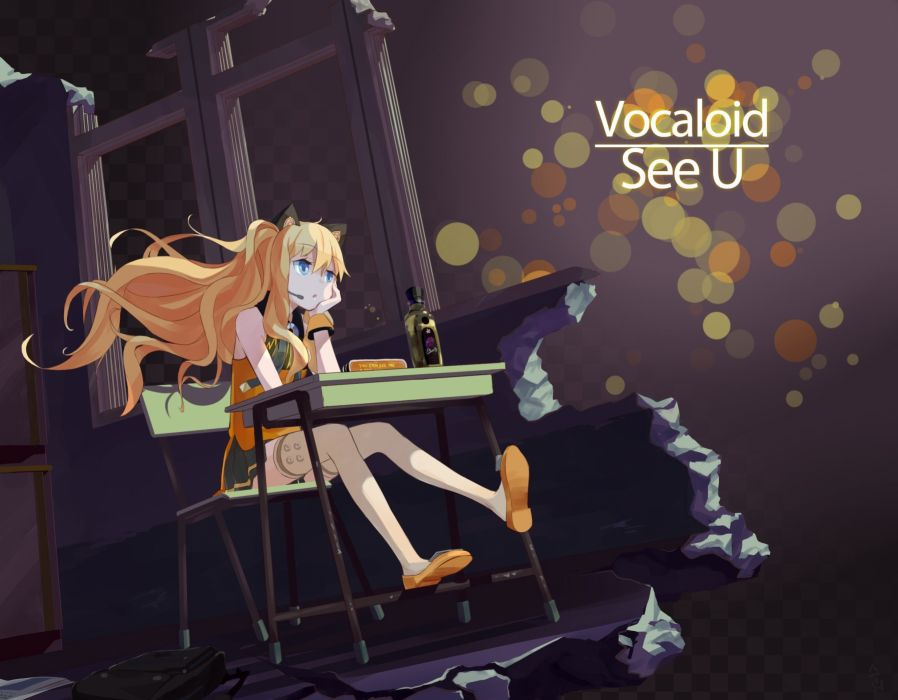Vocaloid SeeU wallpaper