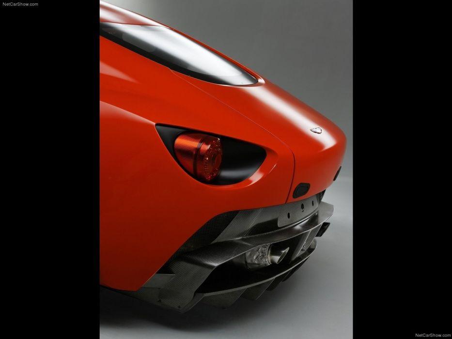 cars Aston Martin V12 Zagato Concept wallpaper