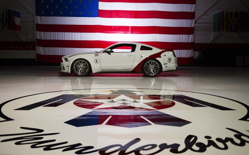 cars Ford Mustang air force Ford Mustang GT Thunderbirds Mustang GT US Air Force wallpaper