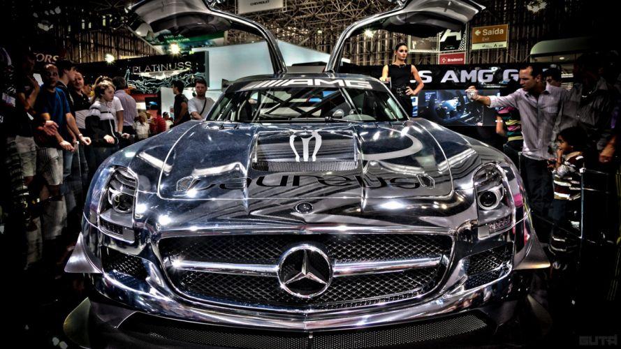 AMG Mercedes-Benz Mercedes-Benz SLS AMG E-Cell wallpaper