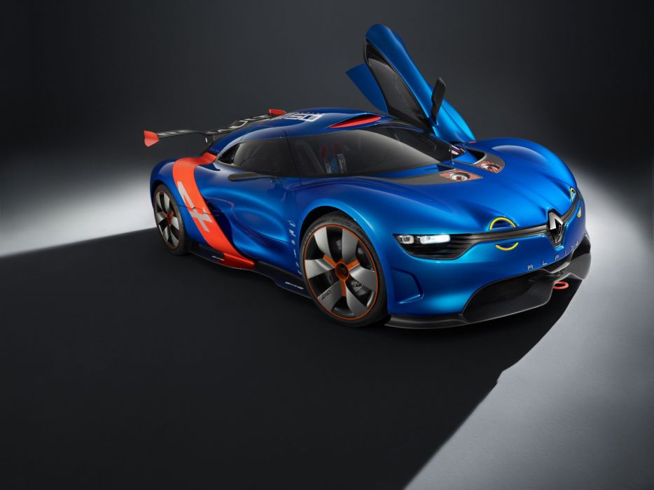 cars studio concept art supercars Renault Alpine racing cars Renault Alpine A110-50 wallpaper