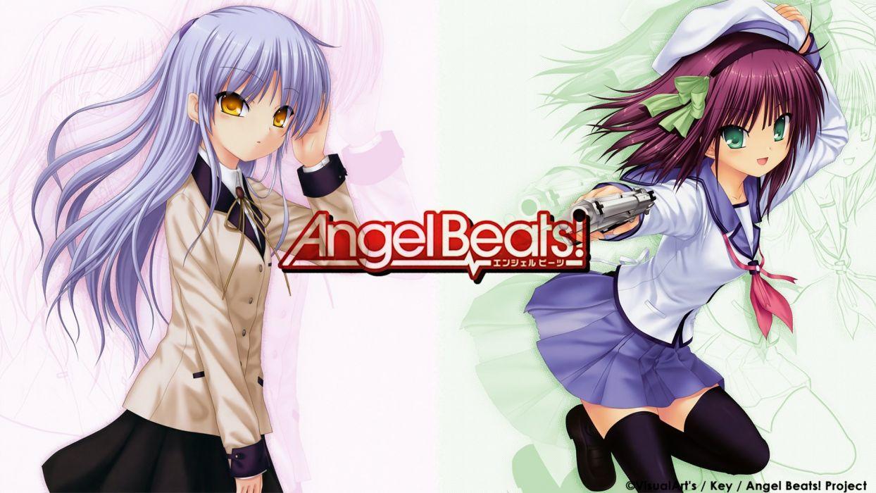 Angel Beats! Tachibana Kanade Nakamura Yuri wallpaper