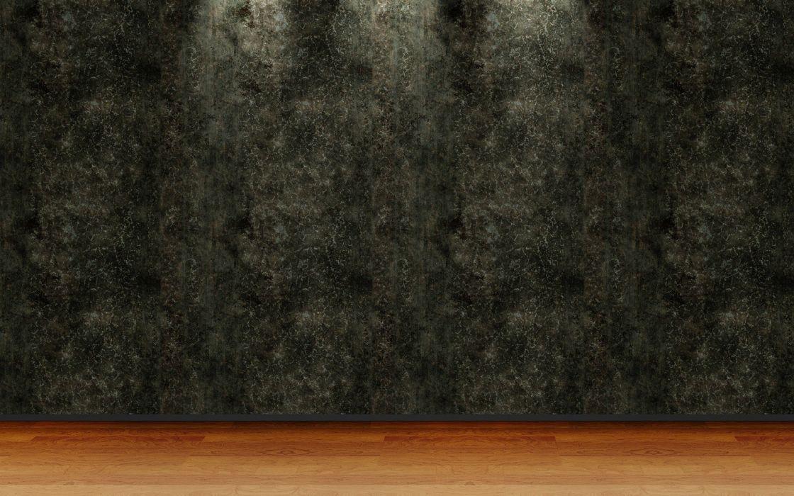 3D view room wallpaper