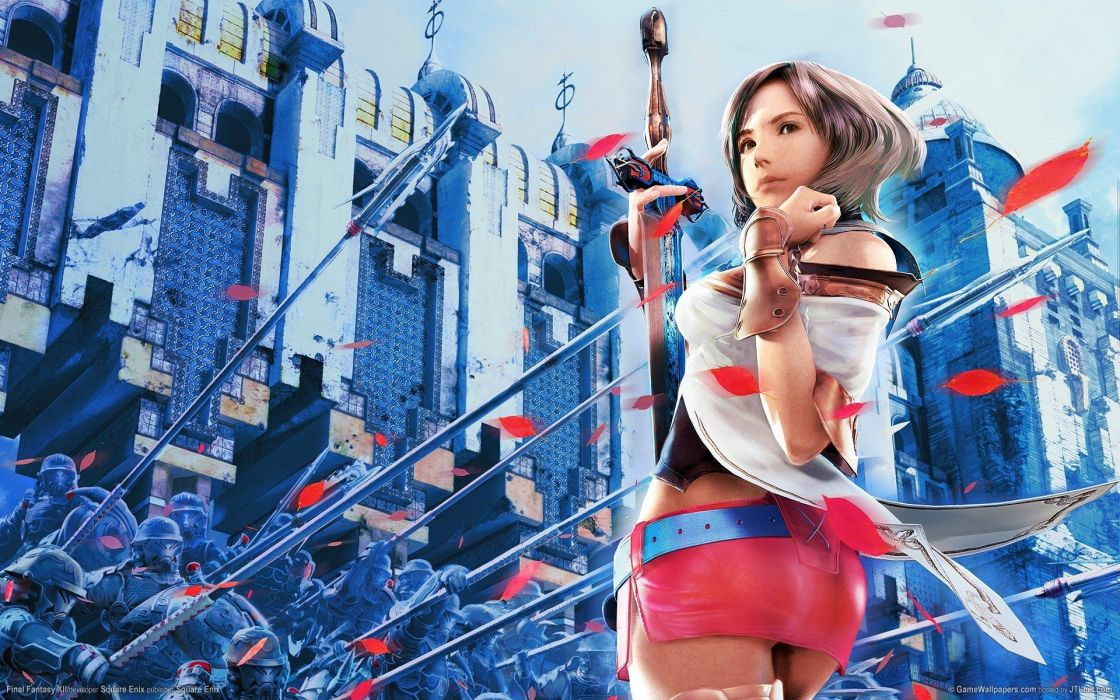 Final Fantasy Final Fantasy XII fantasy art Ashelia Bnargin Dalmasca wallpaper