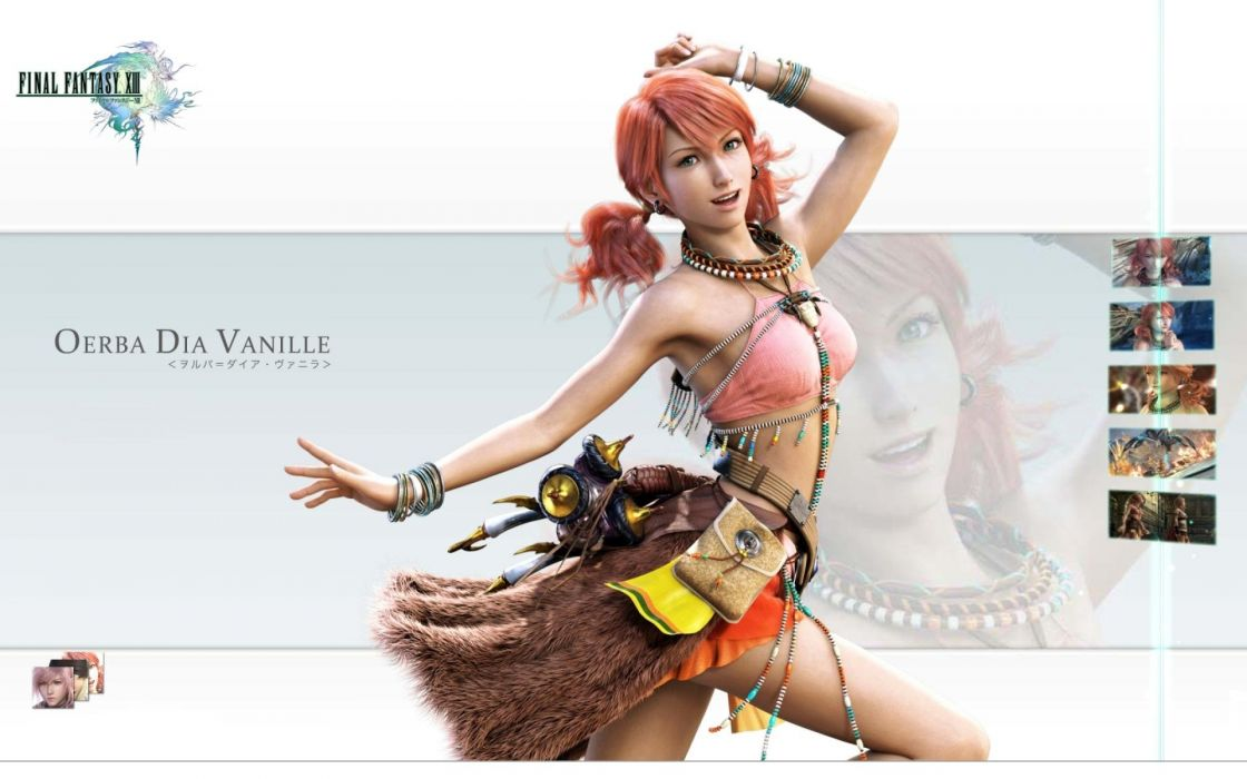 video games Final Fantasy XIII Oerba Dia Vanille wallpaper