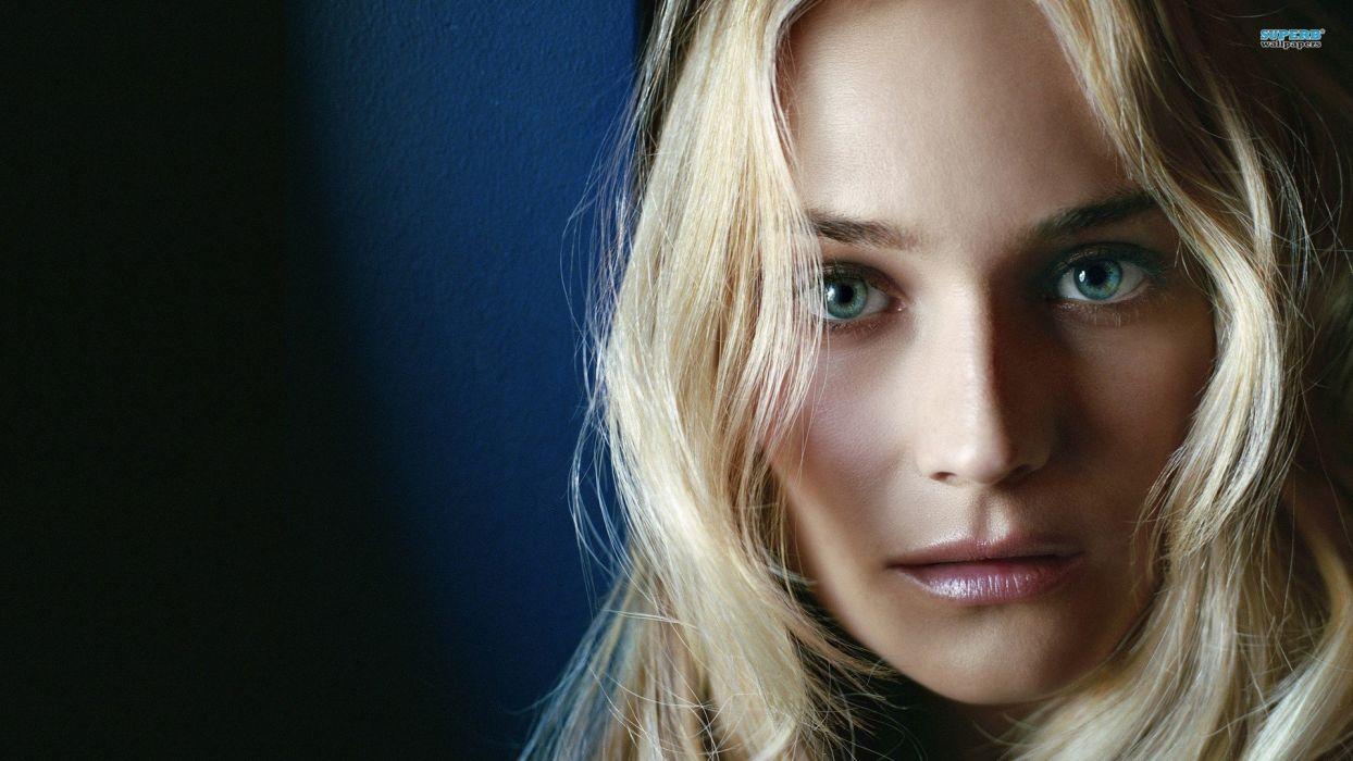 blondes women actress celebrity Diane Kruger wallpaper