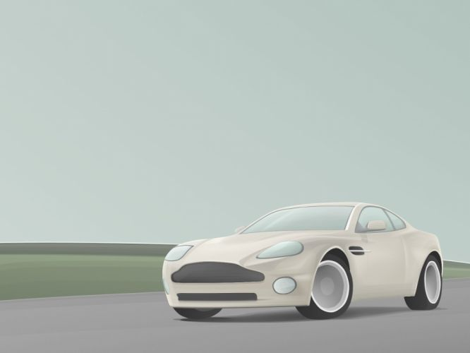 cars Aston Martin vehicles Aston Martin V12 Vanquish wallpaper
