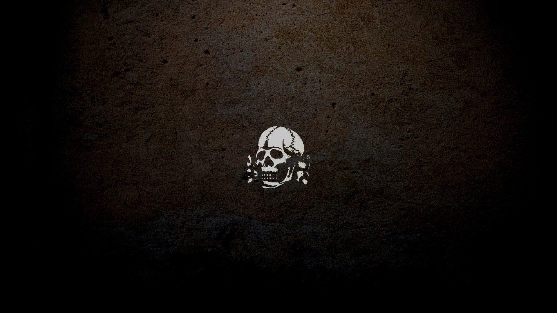 Skull and crossbones wallpaper | 1920x1080 | 286535 ...