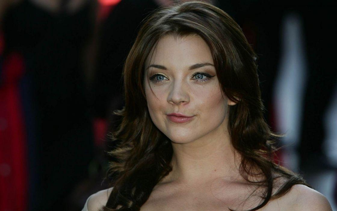 brunettes women actress Natalie Dormer duck face wallpaper