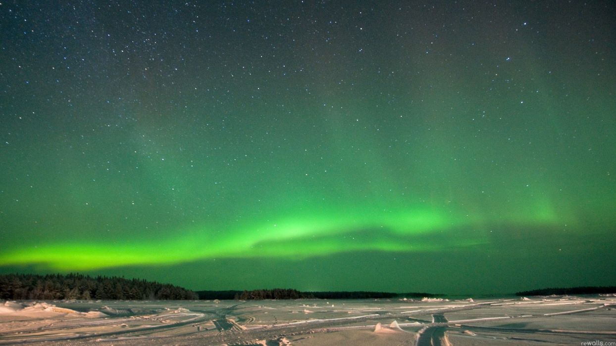 nature aurora borealis wallpaper