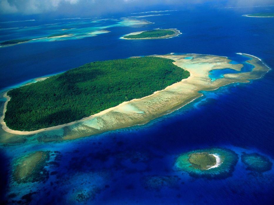 ocean nature islands wallpaper