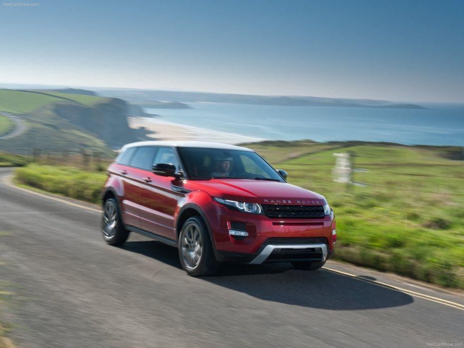 red cars Land Rover Range Rover Range Rover Evoque doors wallpaper