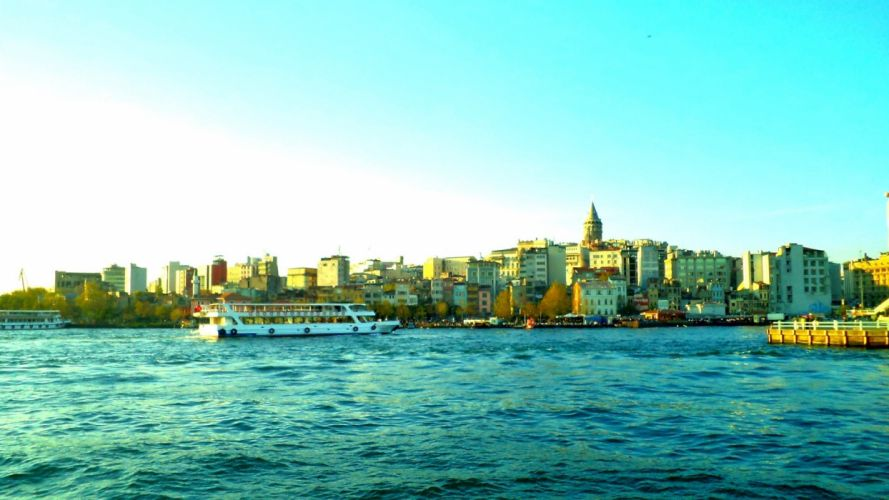 cityscapes Turkey Istanbul Galata Tower Galata wallpaper