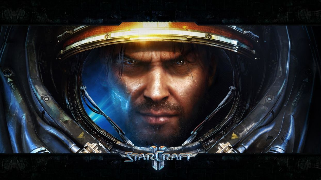 video games StarCraft II wallpaper