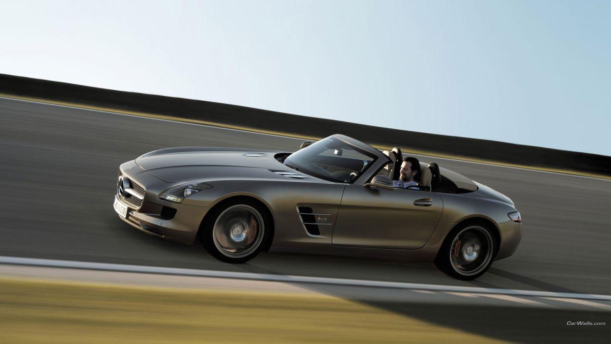 cars Mercedes-Benz SLS AMG wallpaper