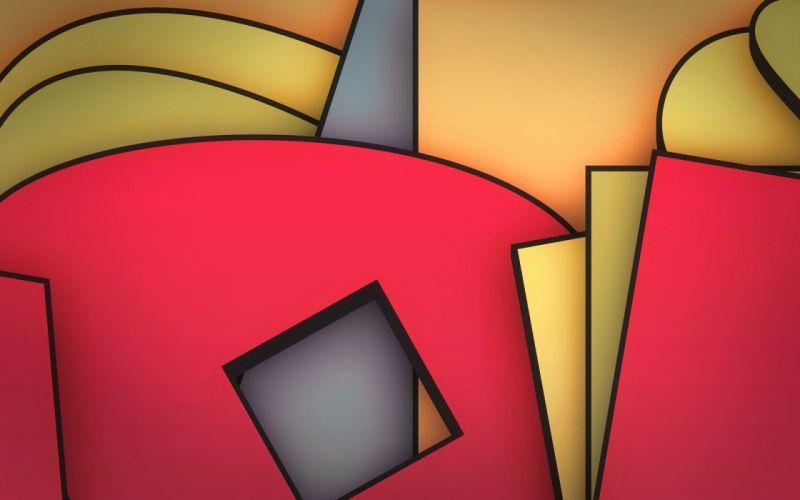 abstract digital art colors wallpaper