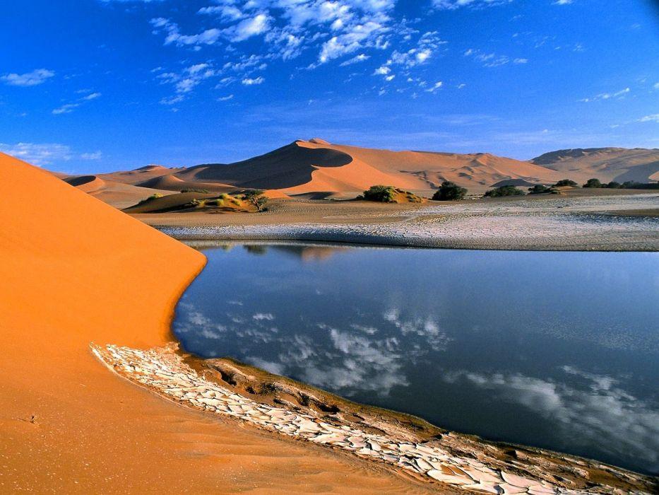 landscapes nature deserts wallpaper
