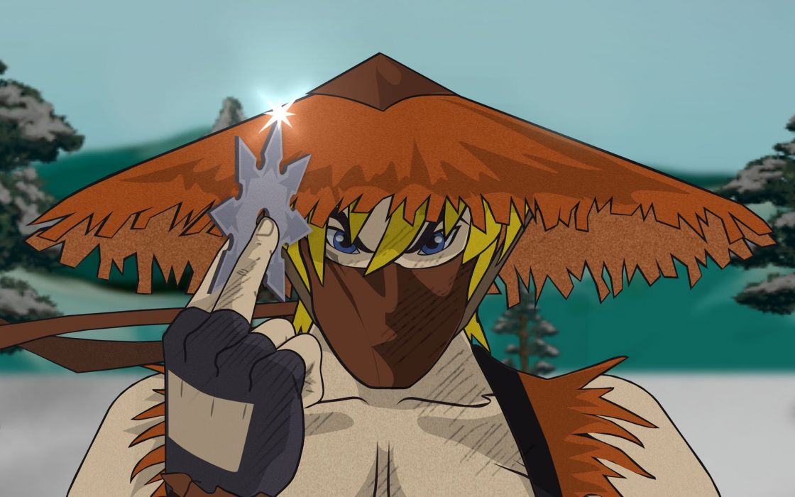 South Park ninjas anime Kenny McCormick wallpaper