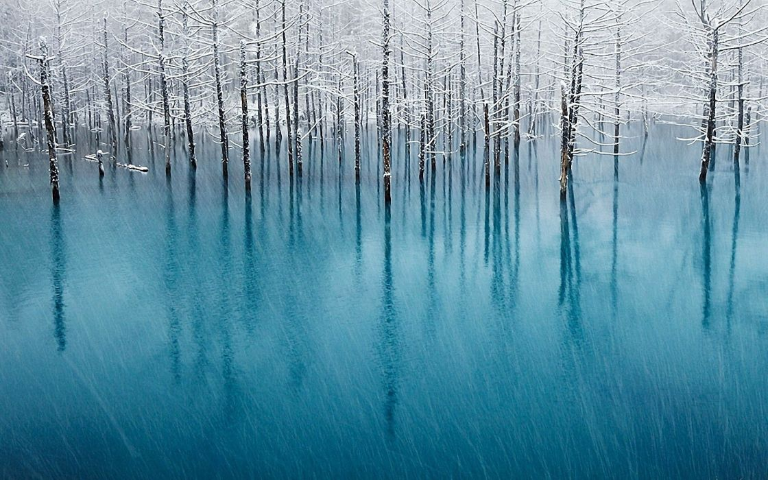 landscapes winter HDR photography wallpaper