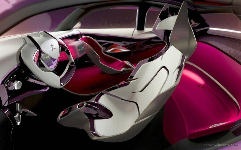 cars interior concept art vehicles CitroAIA wallpaper
