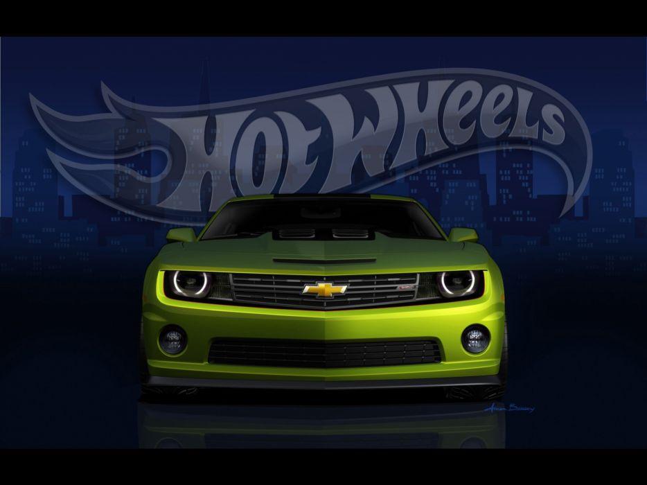concept cars Chevrolet Camaro wheels wallpaper