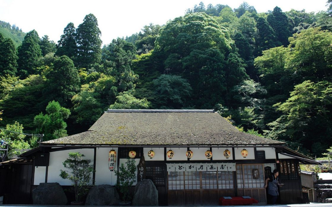 Japan buildings wallpaper