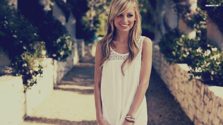 blondes women models Nicole Richie wallpaper