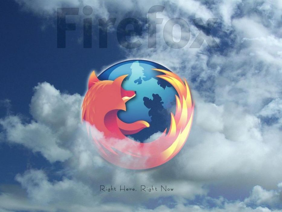 Firefox logos wallpaper