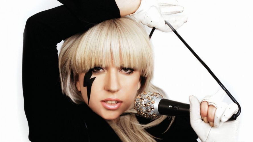 women Lady Gaga musican wallpaper