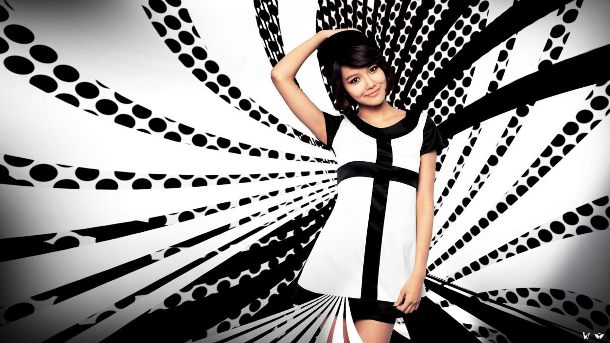 women Girls Generation SNSD Choi Sooyoung bangs wallpaper
