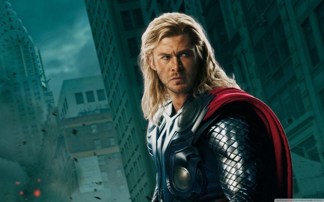 Thor superheroes Chris Hemsworth The Avengers (movie) wallpaper