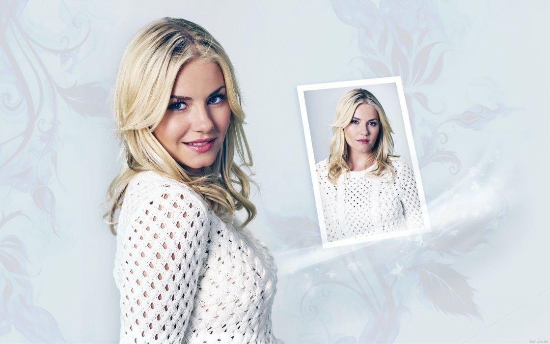 blondes women Elisha Cuthbert actress celebrity wallpaper