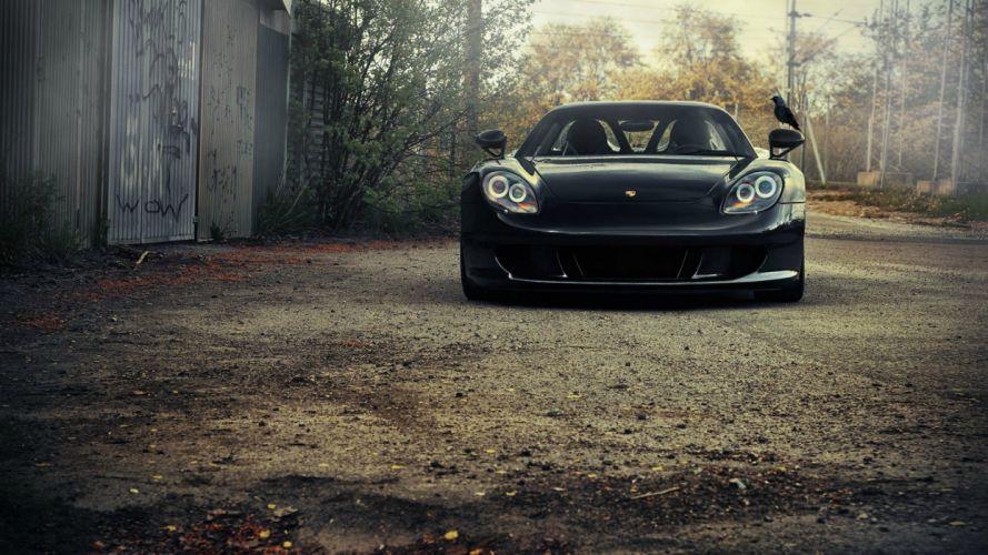 supercars Porsche Carrera GT sports cars wallpaper