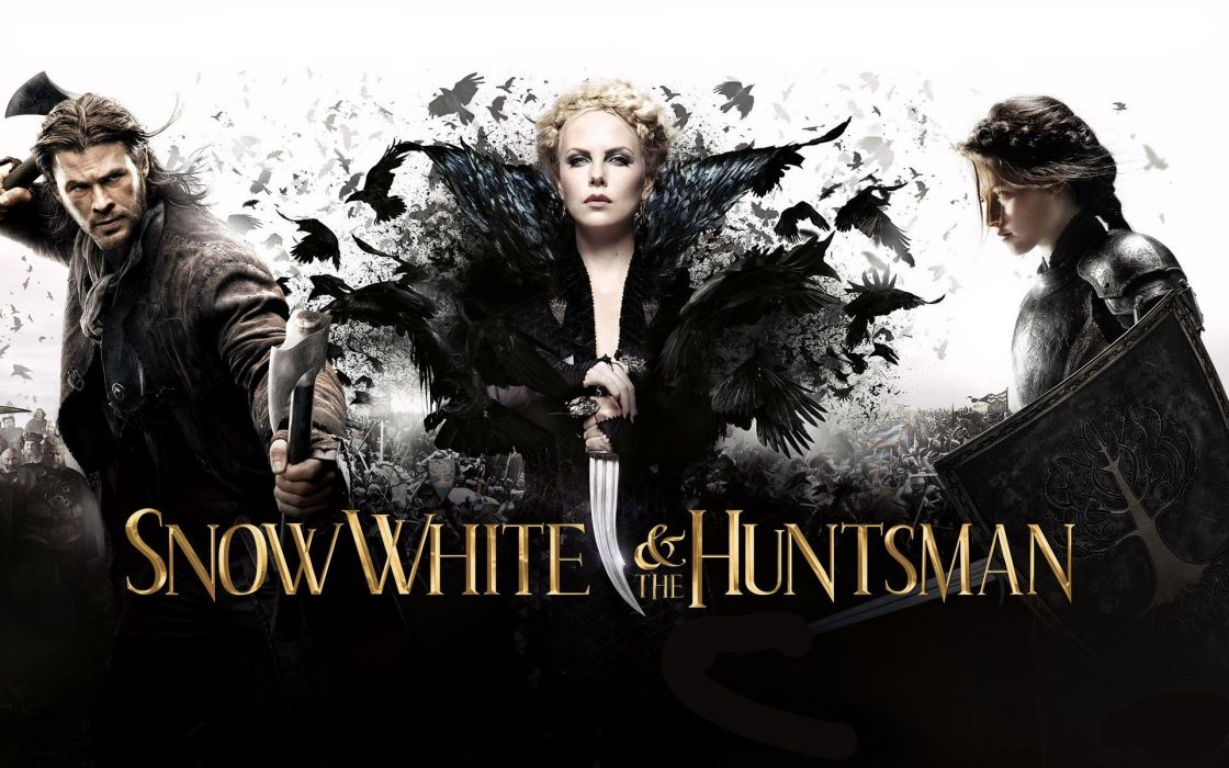 Kristen Stewart movies Charlize Theron Chris Hemsworth Snow White and the Huntsman wallpaper