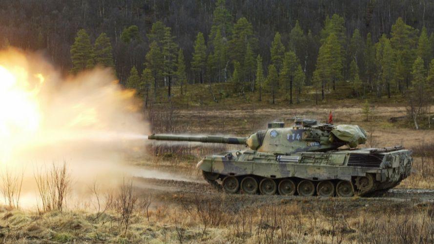 tanks Leopard 1 wallpaper