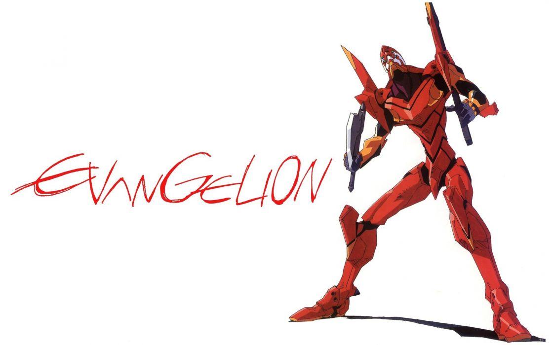 mecha Neon Genesis Evangelion anime EVA Unit 02 wallpaper