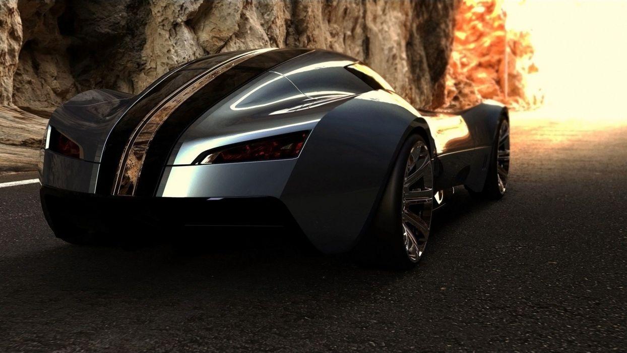 Bugatti concept art wallpaper