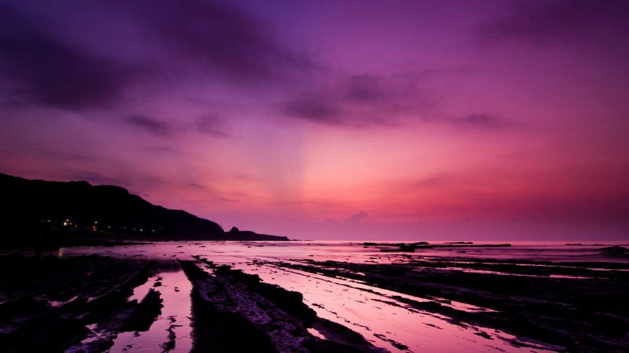 sunrise landscapes wallpaper