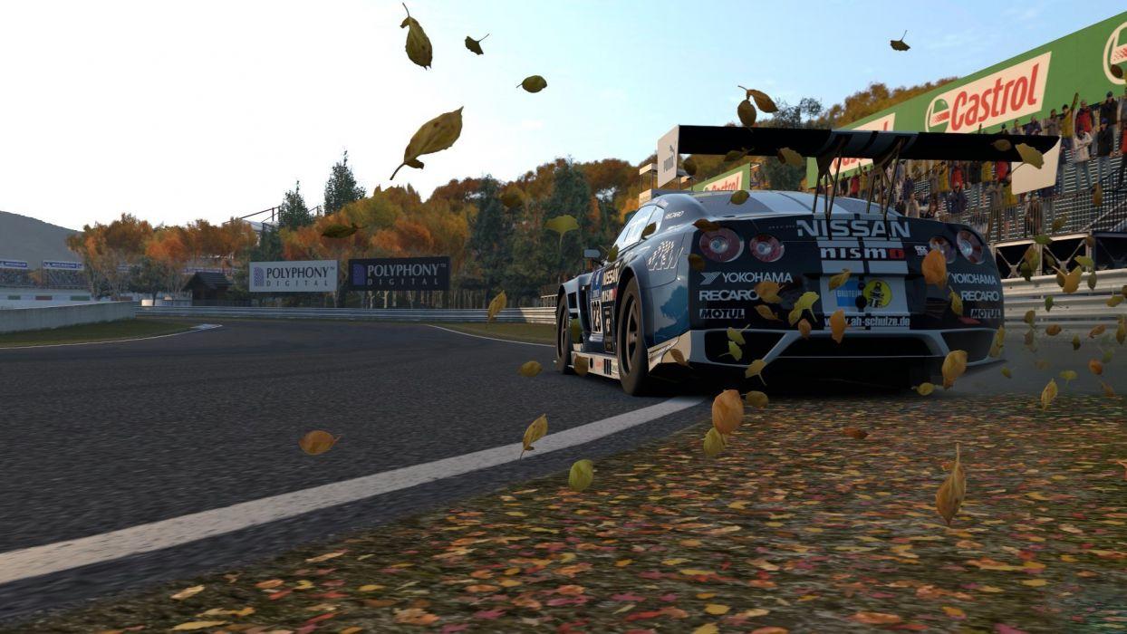 video games cars Playstation 3 Nissan GT-R Gran Turismo 6 wallpaper