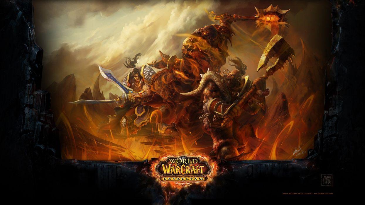 video games World of Warcraft Blizzard Entertainment widescreen wallpaper