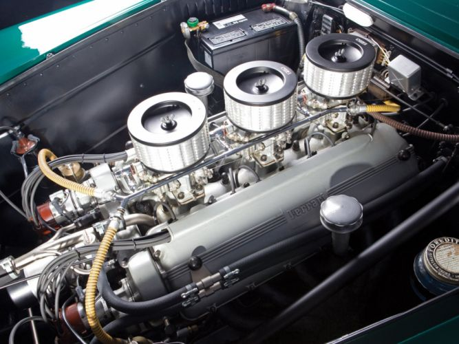 1953 Ferrari 250 Europa retro supercar engine g wallpaper
