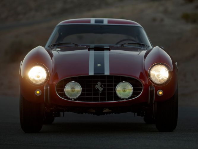 1957 Ferrari 250 G-T Tour-de-France 14-louver Scaglietti Berlinetta supercar race racing retro g wallpaper