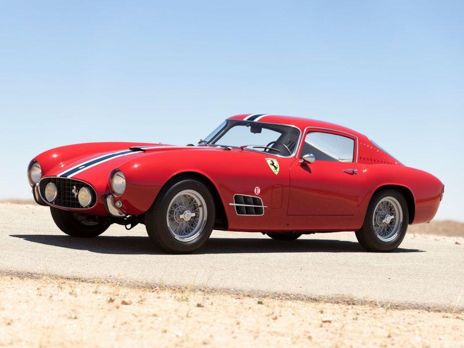 1957 Ferrari 250 G-T Tour-de-France 14-louver Scaglietti Berlinetta supercar race racing retro   g wallpaper