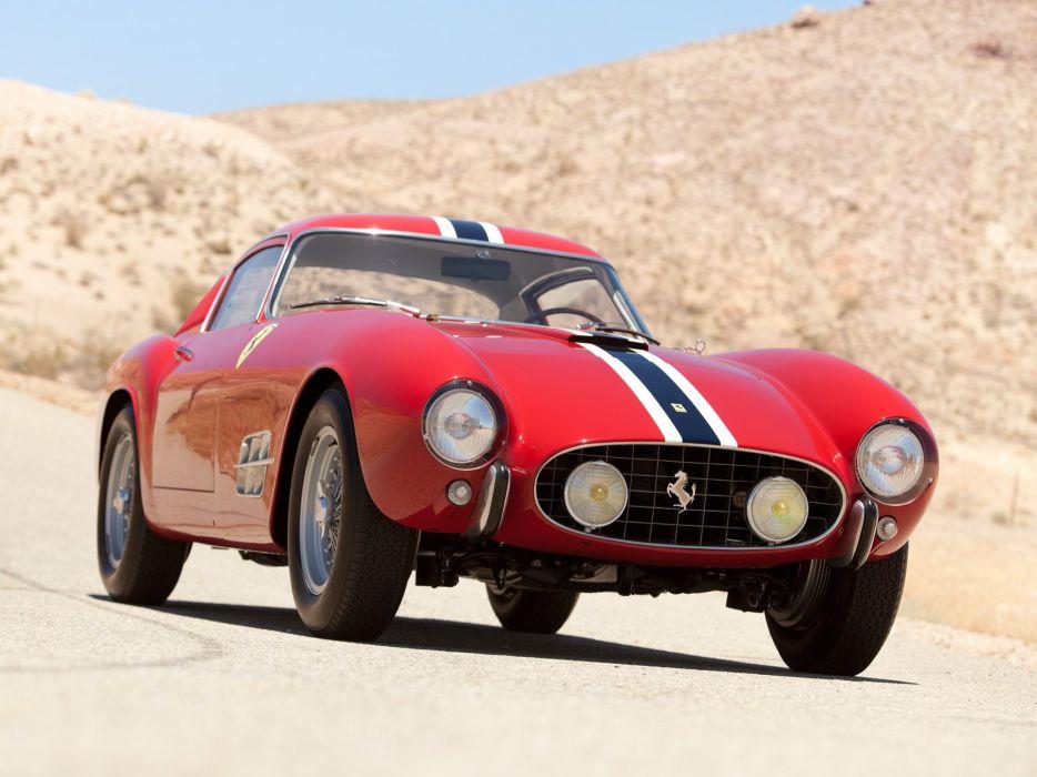 1957 Ferrari 250 G-T Tour-de-France 14-louver Scaglietti Berlinetta supercar race racing retro   r wallpaper