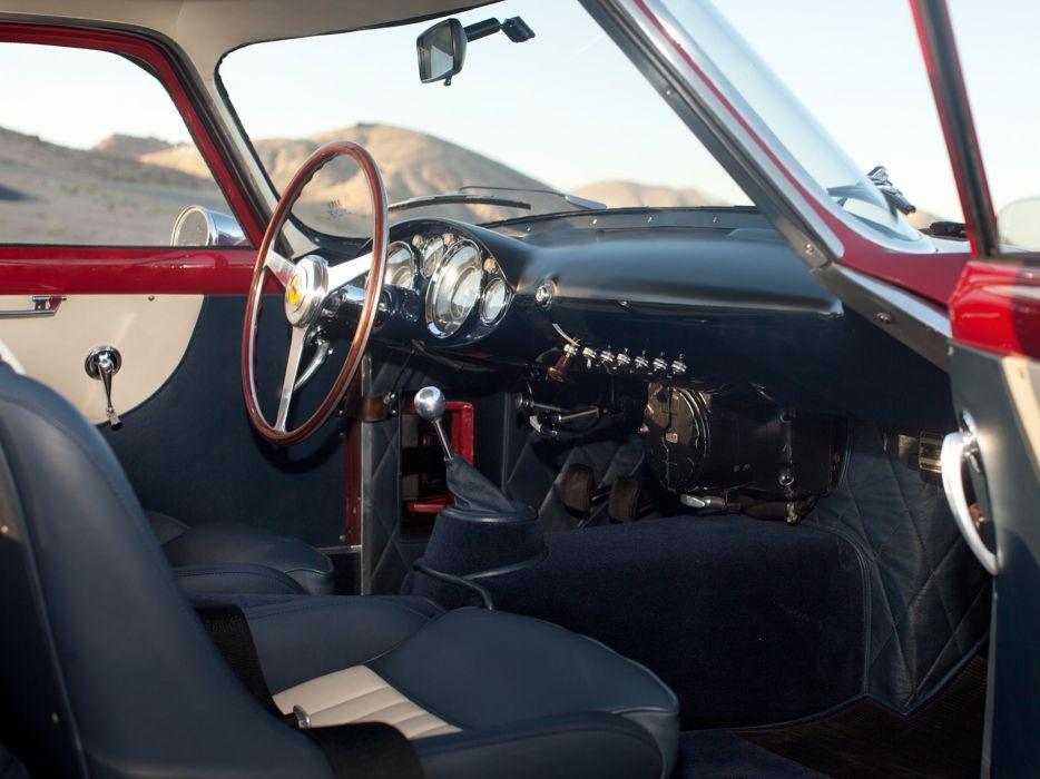 1957 Ferrari 250 G-T Tour-de-France 14-louver Scaglietti Berlinetta supercar race racing retro interior   g wallpaper